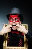 διάβολος αστείος Στοκ εικόνες με δικαίωμα ελεύθερης χρήσης