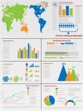 Διάγραμμα στοιχείων Infographic και γραφικός Στοκ εικόνα με δικαίωμα ελεύθερης χρήσης