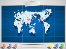 Διάγραμμα στοιχείων Infographic και γραφικός Στοκ φωτογραφία με δικαίωμα ελεύθερης χρήσης