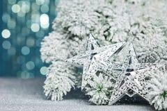 διάνυσμα δέντρων αστεριών απεικόνισης Χριστουγέννων Στοκ φωτογραφίες με δικαίωμα ελεύθερης χρήσης