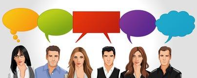 διάνυσμα ανθρώπων επιχειρησιακής απεικόνισης jpg ελεύθερη απεικόνιση δικαιώματος