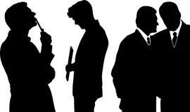 διάνυσμα ανθρώπων επιχειρησιακής απεικόνισης jpg Στοκ Φωτογραφίες