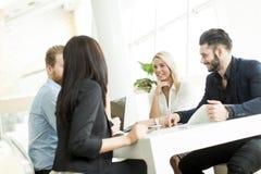 διάνυσμα ανθρώπων επιχειρησιακής απεικόνισης jpg Στοκ φωτογραφία με δικαίωμα ελεύθερης χρήσης