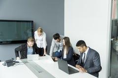 διάνυσμα ανθρώπων επιχειρησιακής απεικόνισης jpg Στοκ φωτογραφίες με δικαίωμα ελεύθερης χρήσης