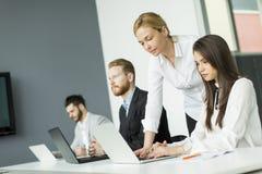 διάνυσμα ανθρώπων επιχειρησιακής απεικόνισης jpg Στοκ εικόνα με δικαίωμα ελεύθερης χρήσης