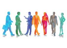 διάνυσμα ανθρώπων επιχειρησιακής απεικόνισης jpg Στοκ Εικόνες