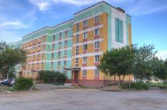 διάνυσμα απεικόνισης σπιτιών κατοίκισης editable Στοκ Εικόνες