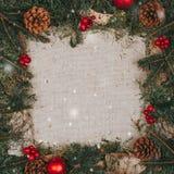 διάνυσμα απεικόνισης Χριστουγέννων ανασκόπησης grunge Στοκ εικόνα με δικαίωμα ελεύθερης χρήσης