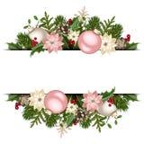 διάνυσμα απεικόνισης Χριστουγέννων eps10 εμβλημάτων Διάνυσμα eps-10 Στοκ εικόνες με δικαίωμα ελεύθερης χρήσης