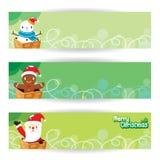 διάνυσμα απεικόνισης Χριστουγέννων eps10 εμβλημάτων διανυσματική απεικόνιση