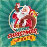διάνυσμα απεικόνισης Χριστουγέννων eps10 εμβλημάτων Στοκ Εικόνες