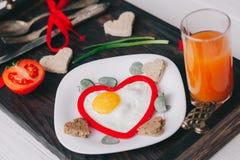 διάνυσμα βαλεντίνων αγάπης απεικόνισης ημέρας ζευγών πρόγευμα ρομαντικό Στοκ φωτογραφία με δικαίωμα ελεύθερης χρήσης