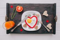 διάνυσμα βαλεντίνων αγάπης απεικόνισης ημέρας ζευγών πρόγευμα ρομαντικό Στοκ φωτογραφίες με δικαίωμα ελεύθερης χρήσης