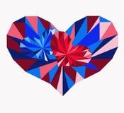 διάνυσμα βαλεντίνων αγάπης απεικόνισης ημέρας ζευγών Στοκ Φωτογραφία