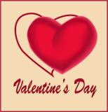 διάνυσμα βαλεντίνων αγάπης απεικόνισης ημέρας ζευγών Στοκ φωτογραφίες με δικαίωμα ελεύθερης χρήσης