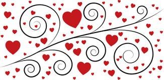 διάνυσμα βαλεντίνων αγάπης απεικόνισης ημέρας ζευγών διανυσματική απεικόνιση