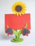 διάνυσμα βαλεντίνων απεικόνισης s χαιρετισμού ημέρας eps10 καρτών Στοκ Εικόνα