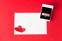 διάνυσμα βαλεντίνων απεικόνισης s χαιρετισμού ημέρας eps10 καρτών Στοκ εικόνα με δικαίωμα ελεύθερης χρήσης