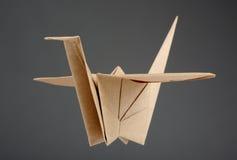 διάνυσμα εγγράφου origami απεικόνισης γερανών Στοκ Φωτογραφίες