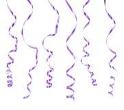 διάνυσμα εικόνας απεικόνισης στοιχείων σχεδίου Ελικοειδής πορφύρα σε ένα άσπρο υπόβαθρο Στοκ εικόνα με δικαίωμα ελεύθερης χρήσης