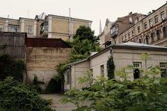 διάνυσμα εικόνας πόλεων αρχιτεκτονικής στοκ εικόνα