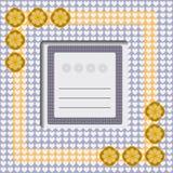 διάνυσμα μητέρων s ίριδων χαιρετισμού ημέρας καρτών Στοκ Εικόνα