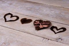διάνυσμα μορφών καρδιών σχεδίου συνδετήρων τέχνης σας Στοκ εικόνες με δικαίωμα ελεύθερης χρήσης
