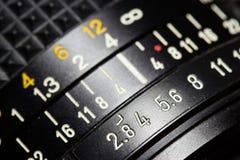 διάνυσμα ουράνιων τόξων φακών απεικόνισης επίδρασης eps10 φωτογραφικών μηχανών στοκ εικόνα