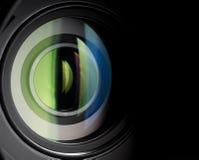 διάνυσμα ουράνιων τόξων φακών απεικόνισης επίδρασης eps10 φωτογραφικών μηχανών Στοκ φωτογραφία με δικαίωμα ελεύθερης χρήσης