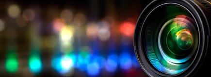 διάνυσμα ουράνιων τόξων φακών απεικόνισης επίδρασης eps10 φωτογραφικών μηχανών Στοκ εικόνα με δικαίωμα ελεύθερης χρήσης