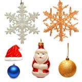 διάνυσμα παιχνιδιών απεικόνισης συλλογής Χριστουγέννων Στοκ Εικόνες
