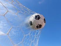 διάνυσμα ποδοσφαίρου στόχου σφαιρών Στοκ εικόνες με δικαίωμα ελεύθερης χρήσης