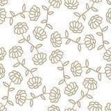 διάνυσμα προτύπων απεικόνισης λουλουδιών χρωμάτων Στοκ Φωτογραφίες
