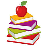 διάνυσμα στοιβών βιβλίων Διανυσματικός σωρός των βιβλίων απεικόνιση αποθεμάτων