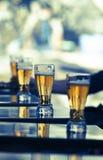 διάνυσμα συμβόλων απεικόνισης γυαλιών σχεδίου χρώματος μπύρας Στοκ Εικόνες