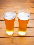 διάνυσμα συμβόλων απεικόνισης γυαλιών σχεδίου χρώματος μπύρας Στοκ φωτογραφία με δικαίωμα ελεύθερης χρήσης