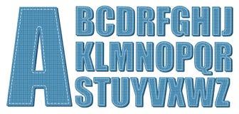διάνυσμα τζιν ανασκόπησης eps10 αλφάβητου Στοκ Εικόνα