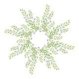 διάνυσμα φύλλων απεικόνισης πλαισίων Στοκ Εικόνες