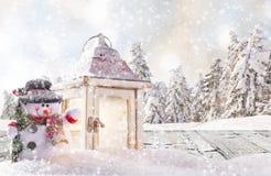 διάνυσμα χιονανθρώπων απεικόνισης Χριστουγέννων ανασκόπησης απεικόνιση αποθεμάτων