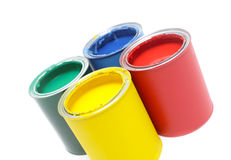 διάνυσμα χρωμάτων απεικόνισης δοχείων στοκ εικόνα με δικαίωμα ελεύθερης χρήσης