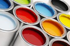 διάνυσμα χρωμάτων απεικόνισης δοχείων στοκ εικόνες με δικαίωμα ελεύθερης χρήσης