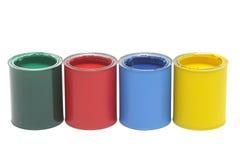 διάνυσμα χρωμάτων απεικόνισης δοχείων στοκ φωτογραφίες