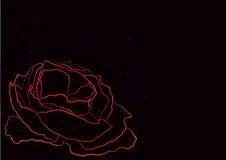 διάνυσμα lement απεικόνισης λουλουδιών σχεδίου αφαίρεσης Στοκ εικόνα με δικαίωμα ελεύθερης χρήσης