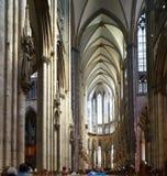 διάσημος Γερμανία καθεδρικών ναών της Κολωνίας κόσμος της ΟΥΝΕΣΚΟ περιοχών ορόσημων κληρονομιάς διεθνής Στοκ εικόνες με δικαίωμα ελεύθερης χρήσης