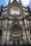 διάσημος Γερμανία καθεδρικών ναών της Κολωνίας κόσμος της ΟΥΝΕΣΚΟ περιοχών ορόσημων κληρονομιάς διεθνής Στοκ εικόνα με δικαίωμα ελεύθερης χρήσης
