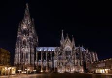 διάσημος Γερμανία καθεδρικών ναών της Κολωνίας κόσμος της ΟΥΝΕΣΚΟ περιοχών ορόσημων κληρονομιάς διεθνής Στοκ Εικόνες