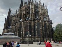 διάσημος Γερμανία καθεδρικών ναών της Κολωνίας κόσμος της ΟΥΝΕΣΚΟ περιοχών ορόσημων κληρονομιάς διεθνής Στοκ Εικόνα
