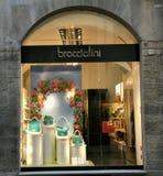 διάσημο κατάστημα της Ιταλίας μόδας Στοκ Εικόνες