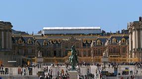 διάσημο παλάτι βασιλικές Βερσαλλίες της Γαλλίας κάστρων Στοκ Εικόνα
