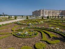 διάσημο παλάτι βασιλικές Βερσαλλίες της Γαλλίας κάστρων Στοκ Εικόνες